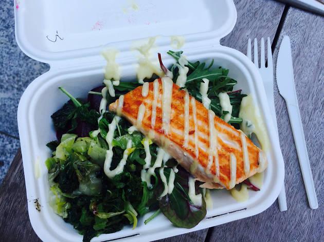 Street Kitchen salmon