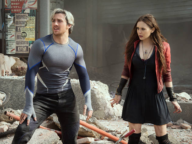 Two people in 'Avengers: Age of Ultron'