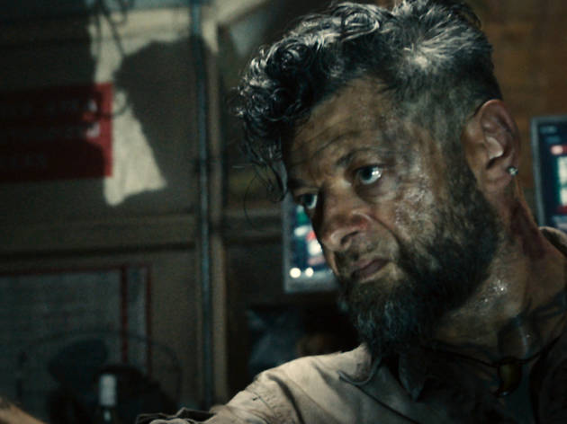 Andy Serkis does a killer Sharlto Copley impression