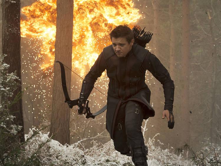 Hawkeye is the real hero