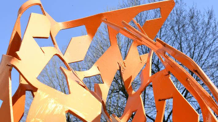 Combustion - Manchester public art