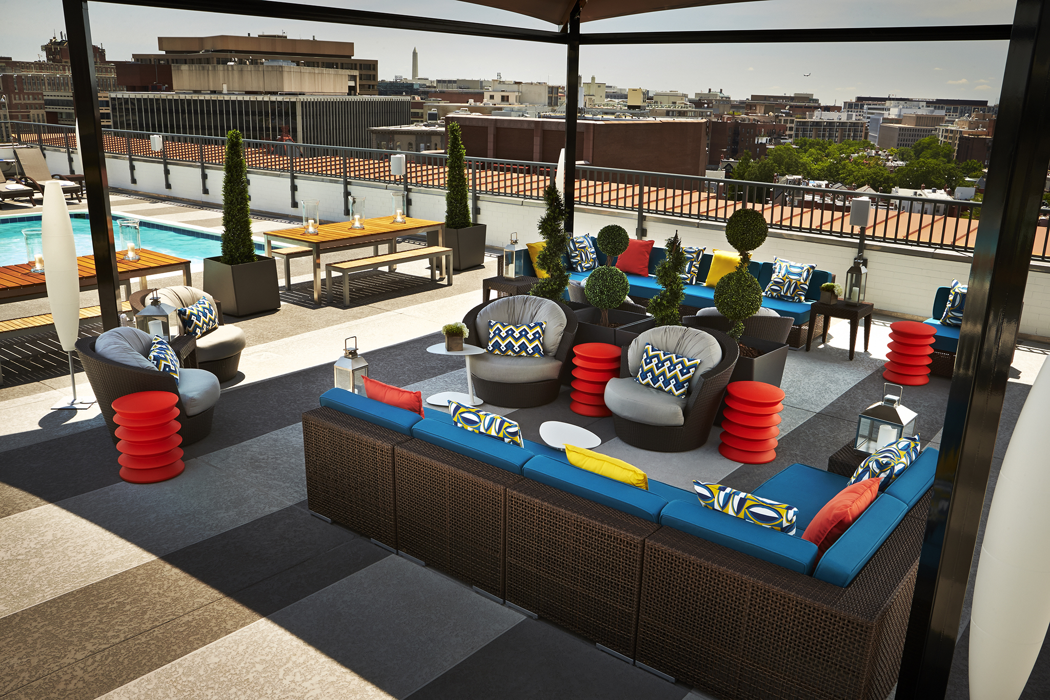 The Rooftop at Embassy Row Hotel