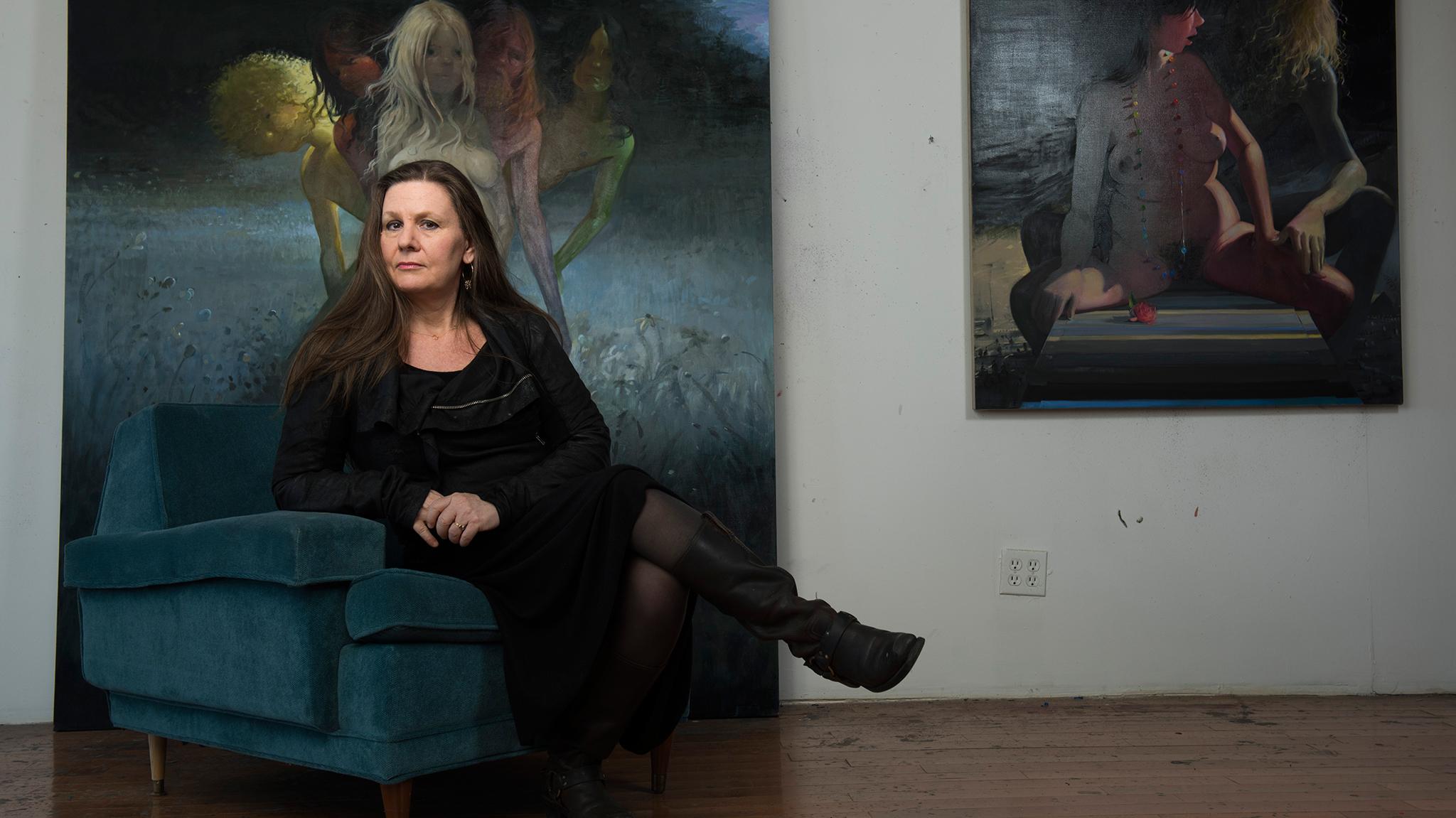 Lisa Yuskavage previews her latest paintings