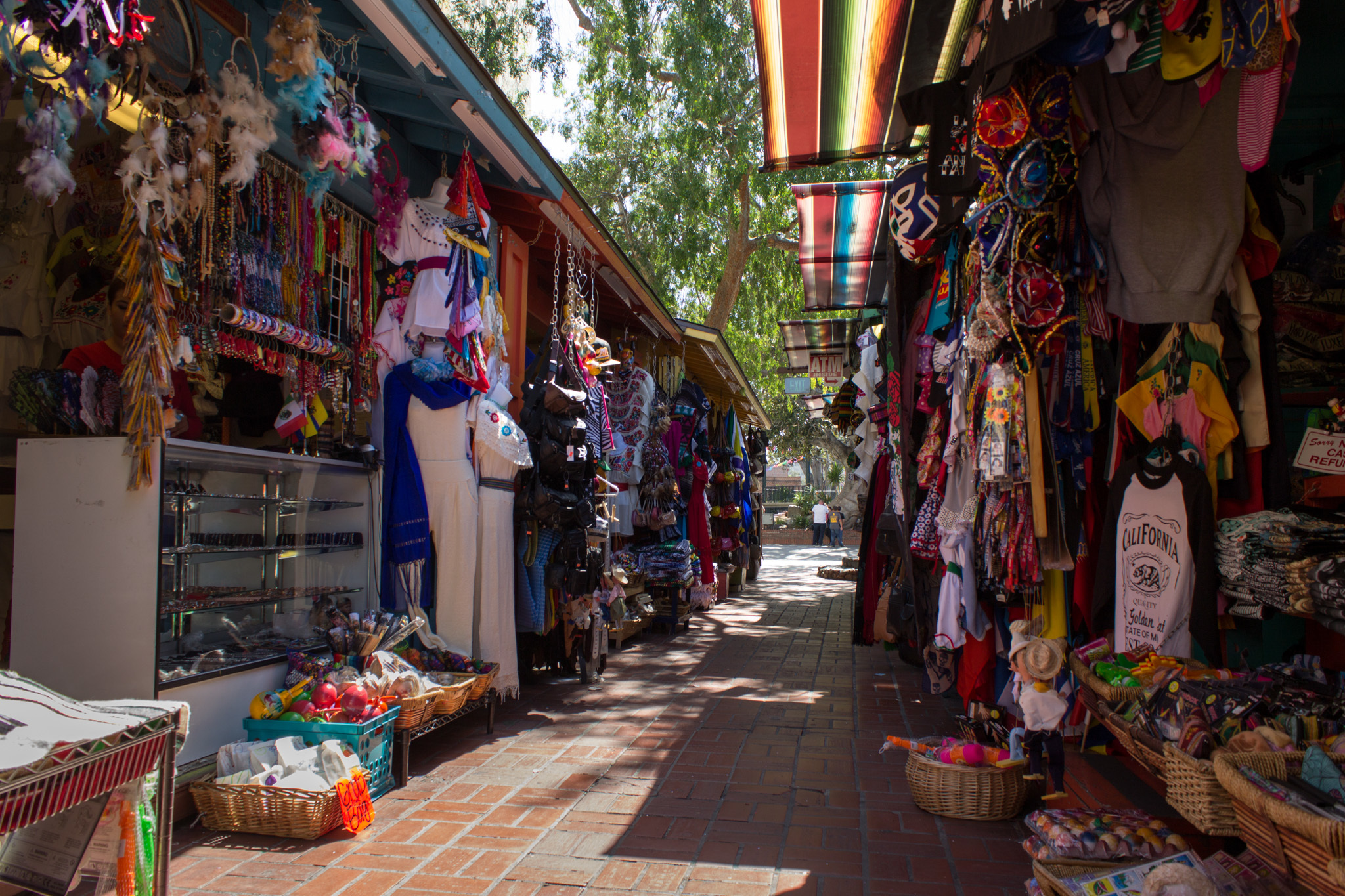 Olvera Street is great for exploring LA's history, eating Mexican food and shopping for gifts.