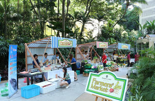 Farmers' Market at Shangri-La Hotel