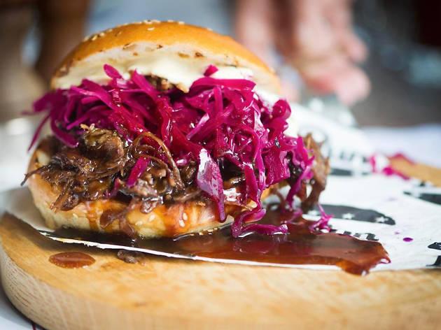 Le Bun - Le bourgignon bun street food burger