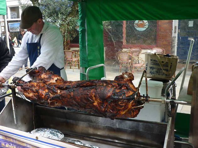 Moen's hog roast, Venn Street