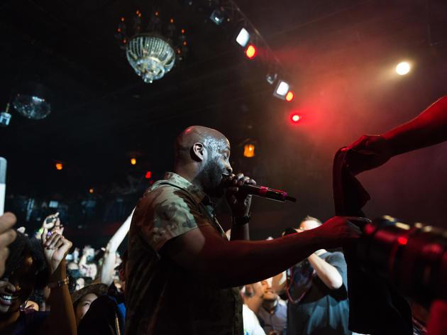 Sex at a rap concert