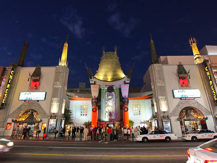 Stroll (briefly) along the stars in Hollywood