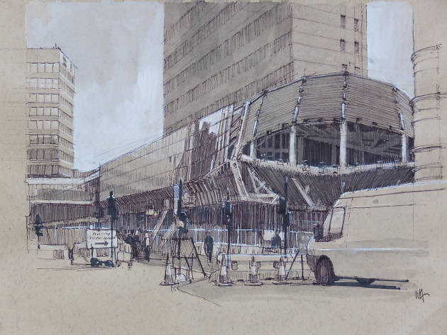 Sketching on Location with Wayne Attwood