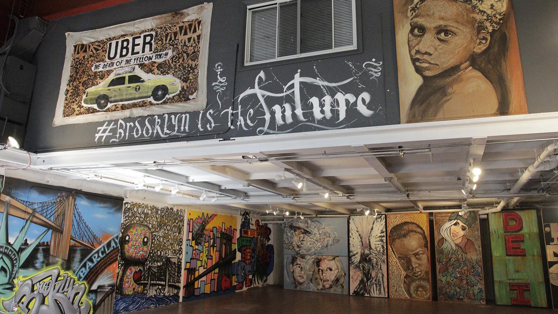 Street art show 'Brooklyn is The Future' takes over Bushwick