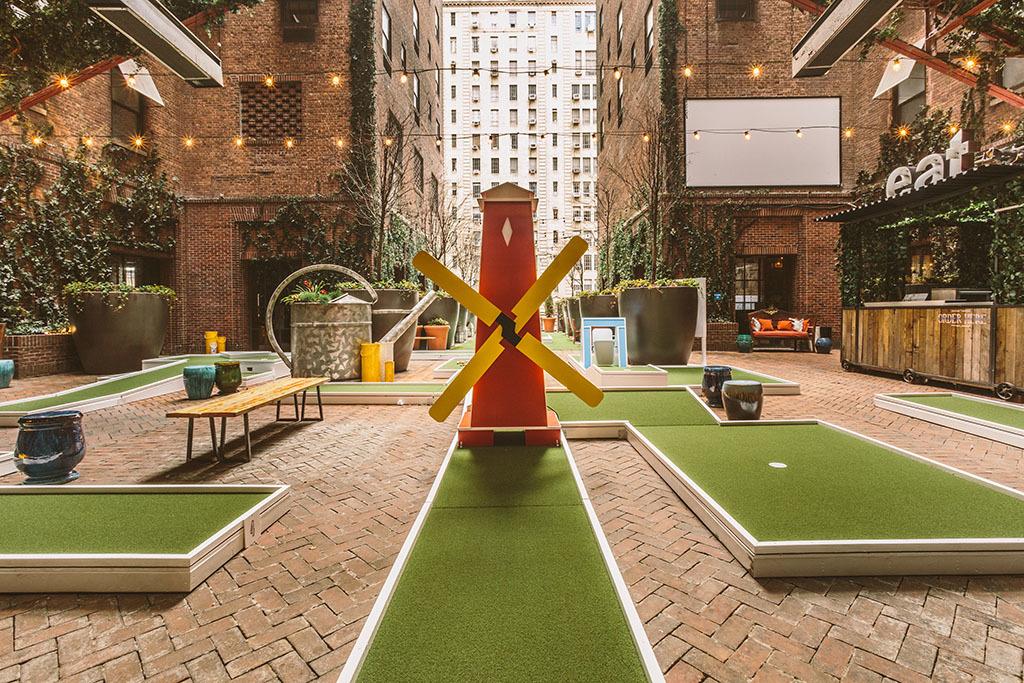 Rooftop Mini Golf