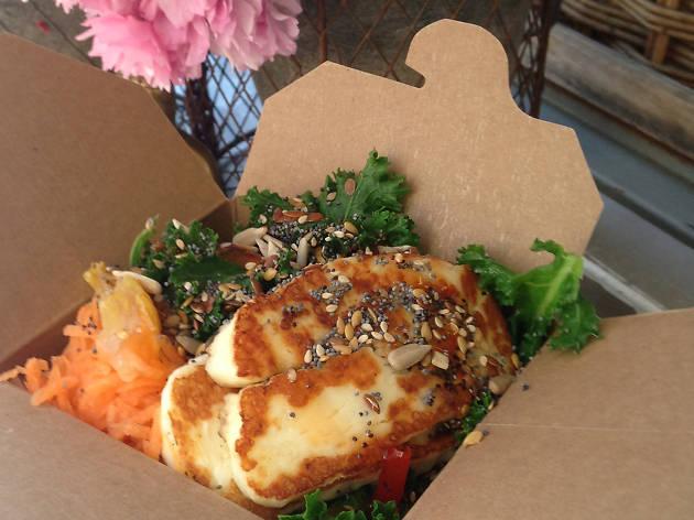 Buddha Bowl - healthy street food from the Buddha Bowl Van
