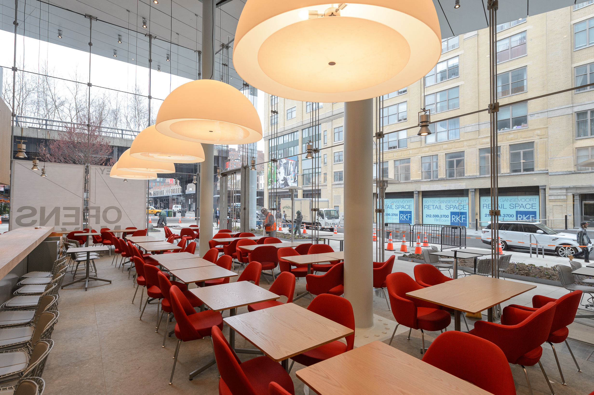 See inside Danny Meyer's restaurant at the Whitney Museum
