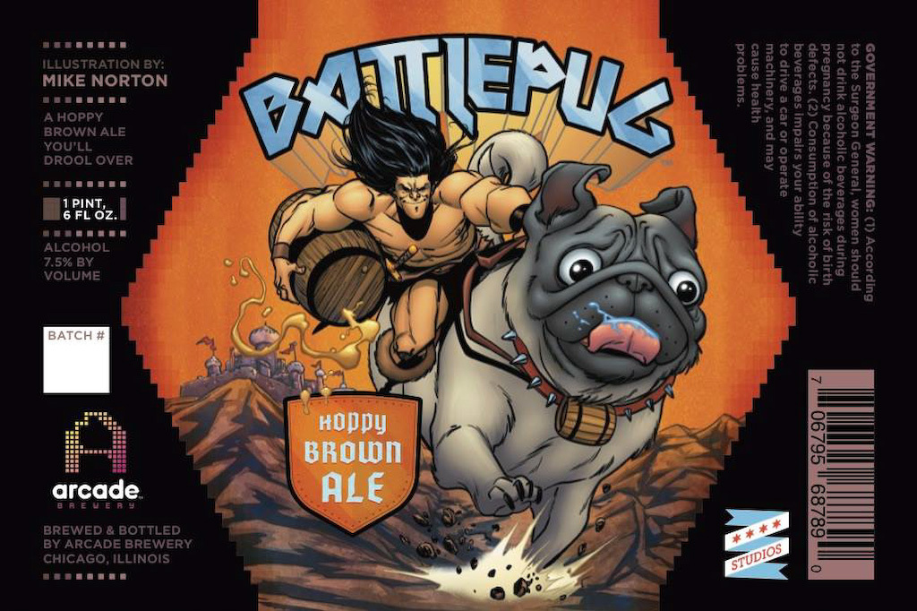 Arcade Brewery Battlepug Release Party