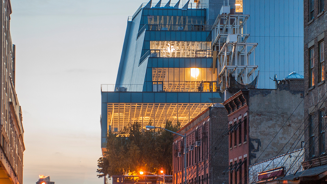 See photos of the brand new Whitney Museum