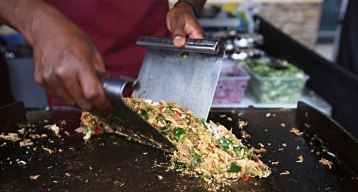 Kothu Kothu Sri Lankan street food