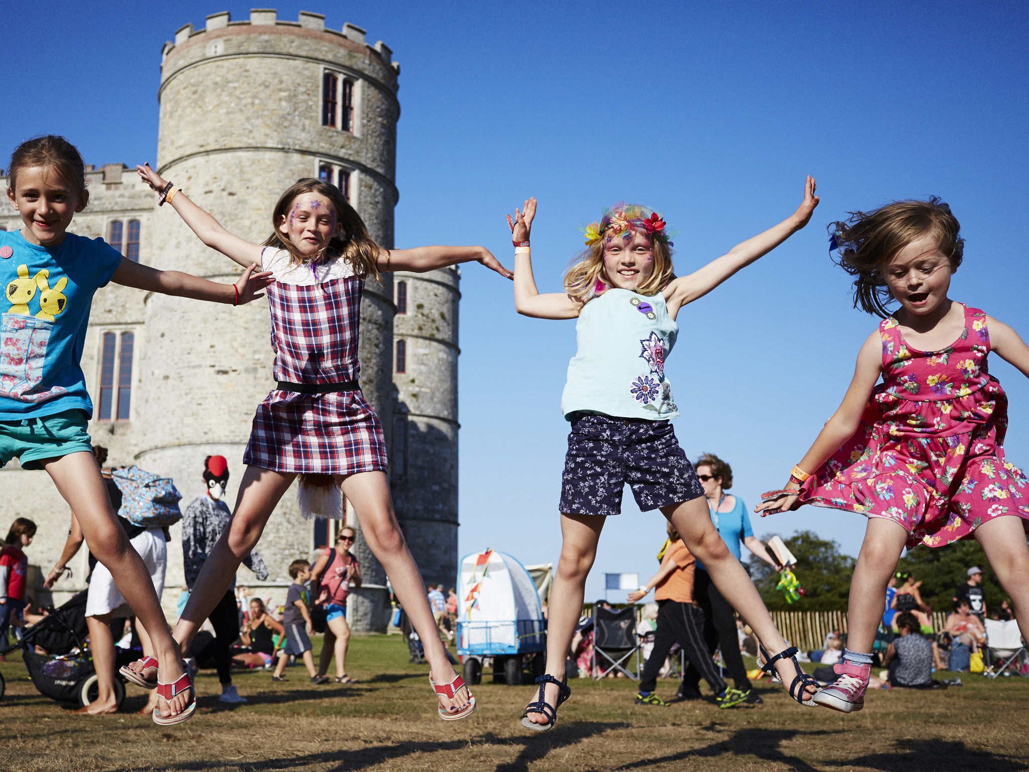 Win one of three family weekend tickets to Camp Bestival 2015