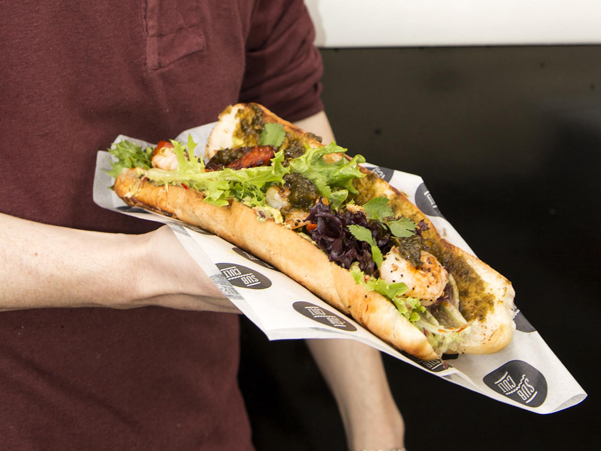 Sub Cult's street food submarine sandwich
