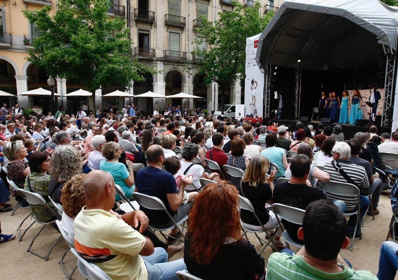 A Cappella, Girona, Temps de Flors