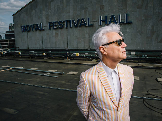 David Byrne at the Southbank Centre