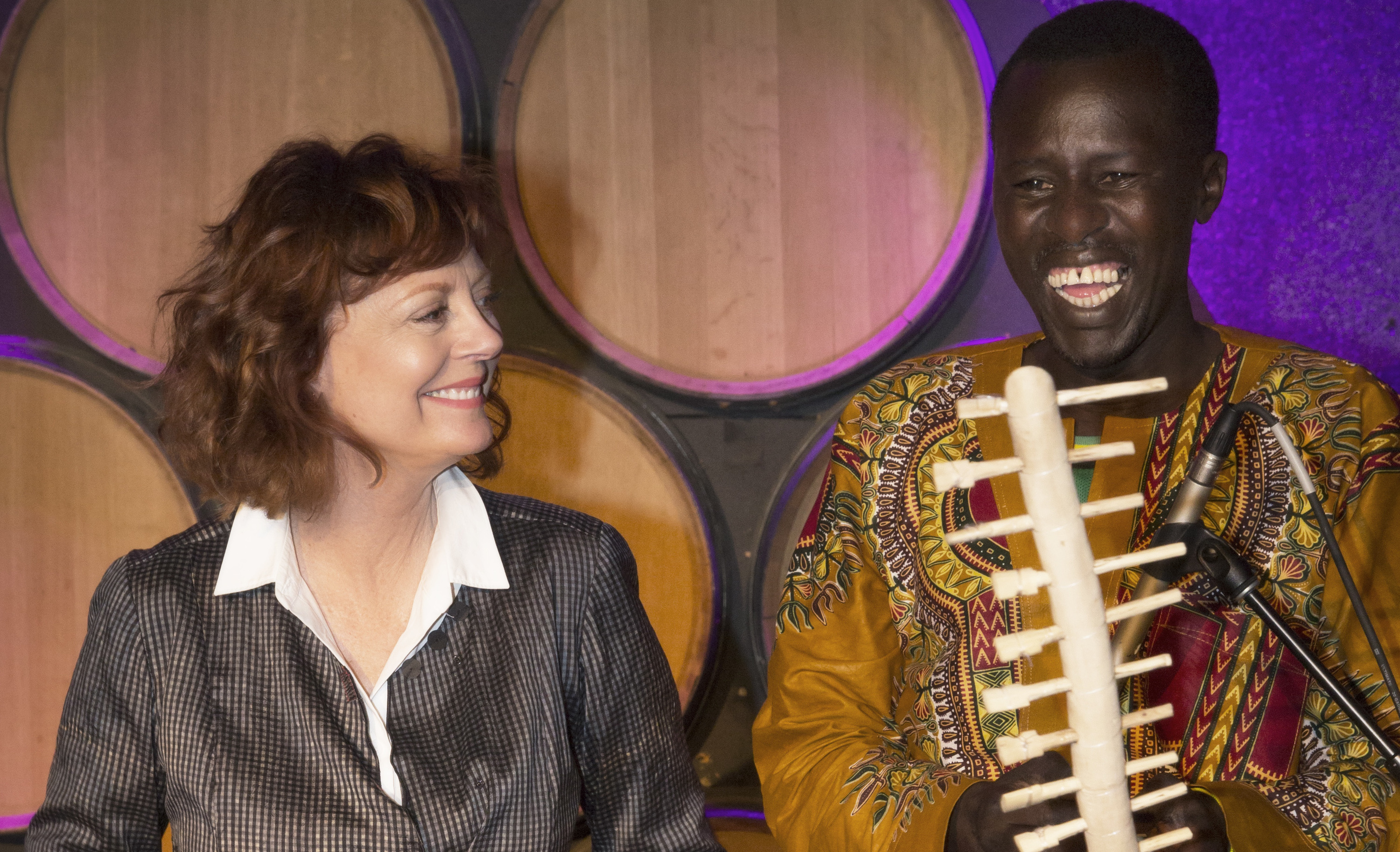 Susan Sarandon hosts a powerful new play about Ugandan child soldiers