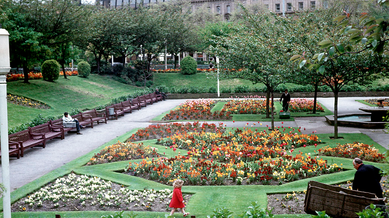 Piccadilly Gardens, 1983