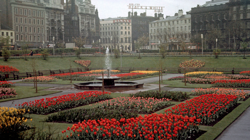 Piccadilly Gardens, 1960s
