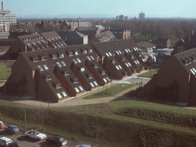 Whitworth Park Student Residences, 1976