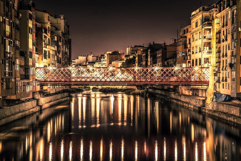 Girona, riu Onyar