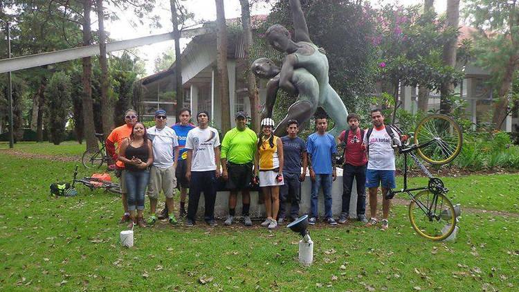 Ciclistas Solteros (Foto: Cortesía Ciclistas solteros de la Ciudad de México)