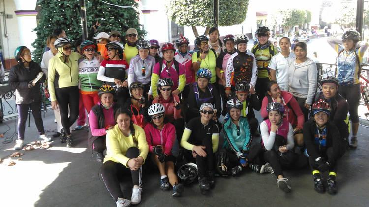 Mujeres Ciclistas (Foto: Cortesía Mujeres Ciclistas)