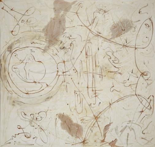 """Sigmar Polke, """"Silver Paintings"""""""