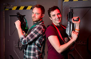 Laser tag date