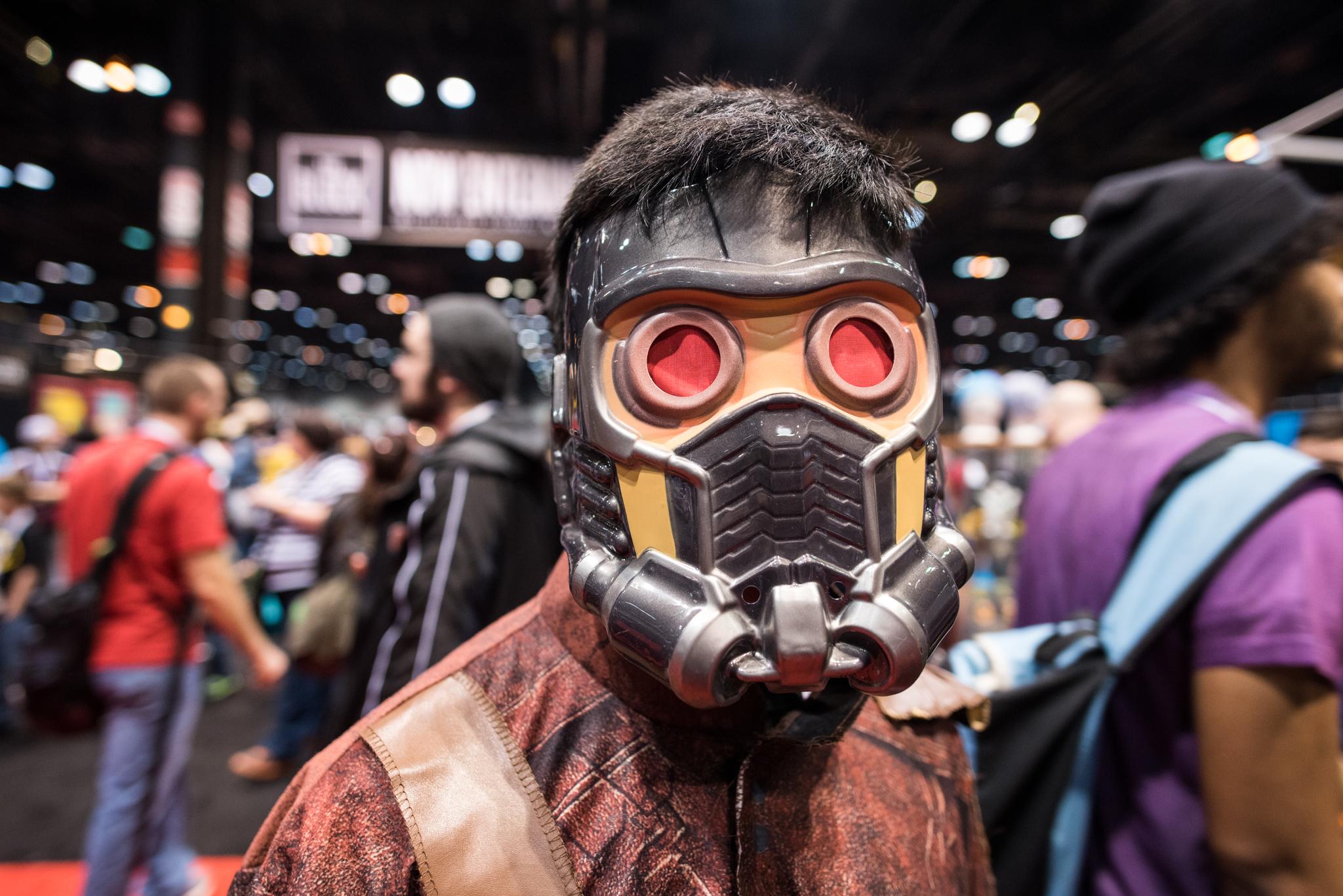 Fans, cosplayers and shelves of merch filled the floor at C2E2, April 25, 2015.