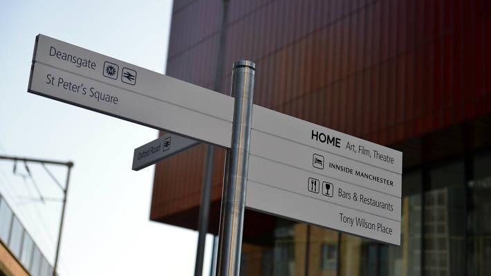 Home signage