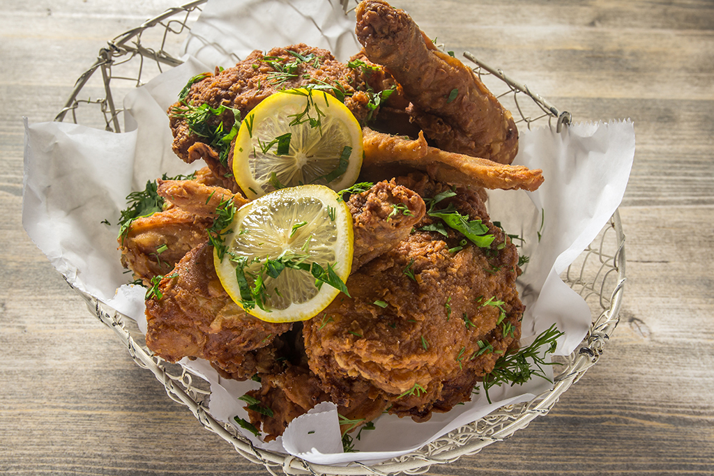 ROOT AND BONE fried chicken