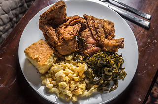 Mitchell's Soul Food fried chicken