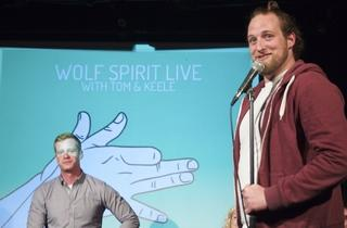 Wolf Spirit Live with Tom and Keele