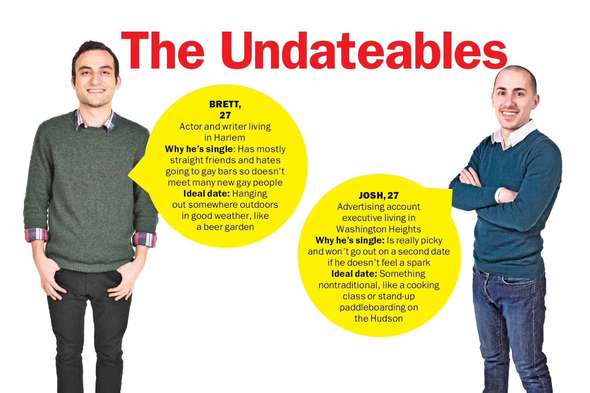 Meet the Undateables: Brett and Josh