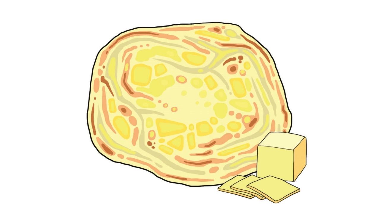 Roti cheese