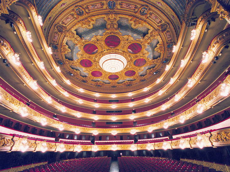 Ver una ópera en el Gran Teatre del Liceu