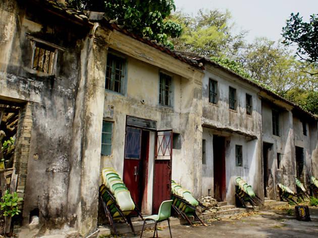 For an abandoned Hakka village: Yim Tin Tsai