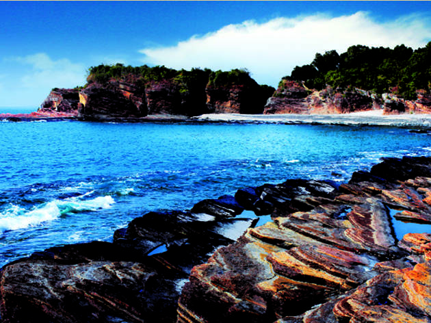 For rockin' rocks and sunrises: Tung Ping Chau