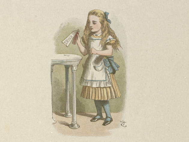 Alice's Adventures in Wonderland at the Museum of Childhood