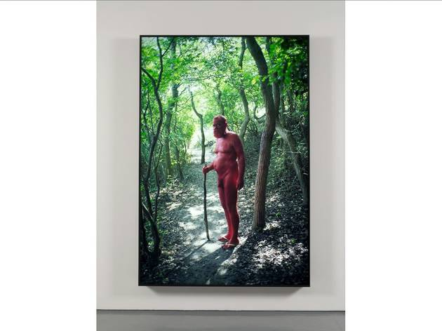 (AA Bronson in collaboration with Ryan Brewer: 'Red', © the artist, courtesy Maureen Paley)