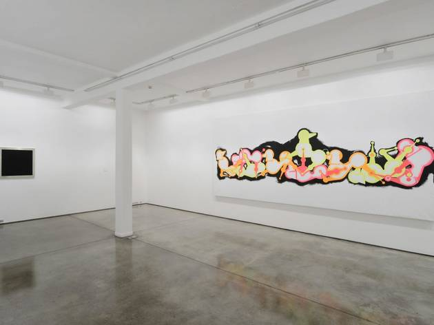(AA Bronson: exhibition view of 'Hexenmeister', © the artist, courtesy Maureen Paley)