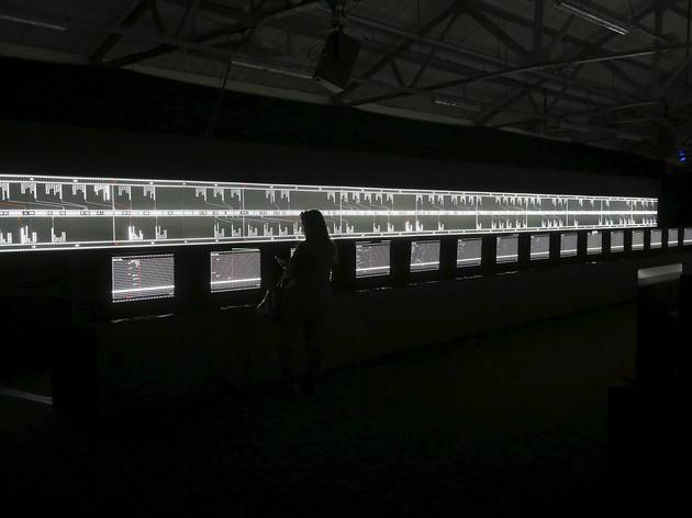 (Ryoji Ikeda: 'Supersymmetry', © the artist, photo: Jana Chiellino)