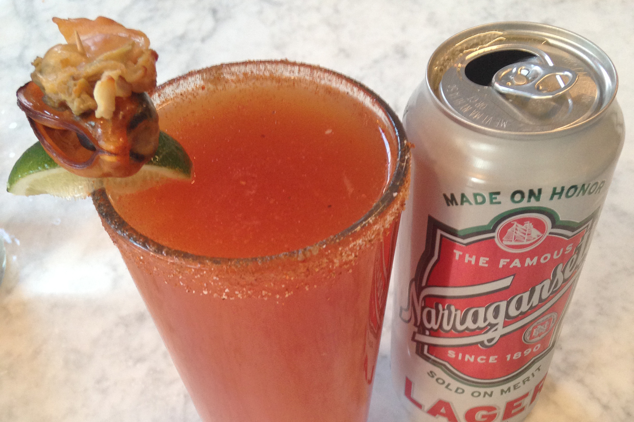 Michelada at Greenpoint Fish & Lobster Co