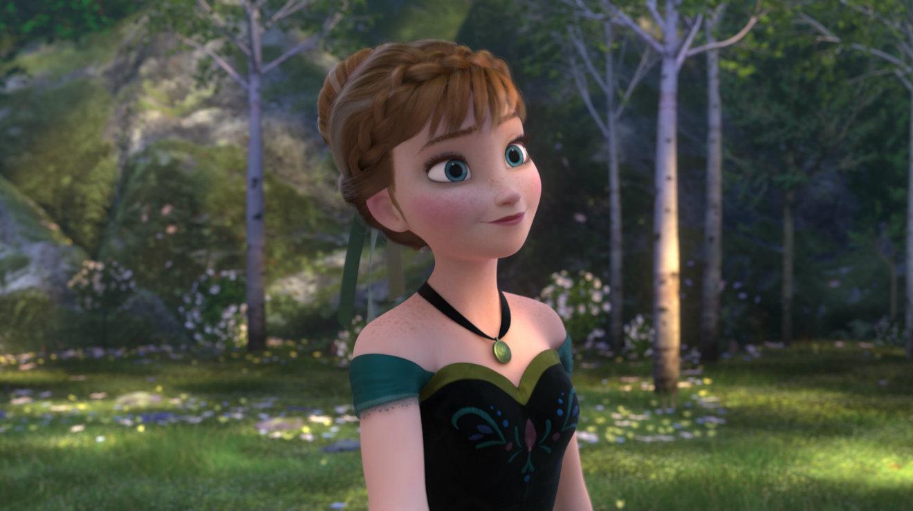 <p>Inocente y crédula, Anna no comprende el porqué su hermana mayor, Elsa, ha puesto tanta distancia entre ellas.</p>